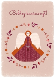 angyal rózsaszín-okker