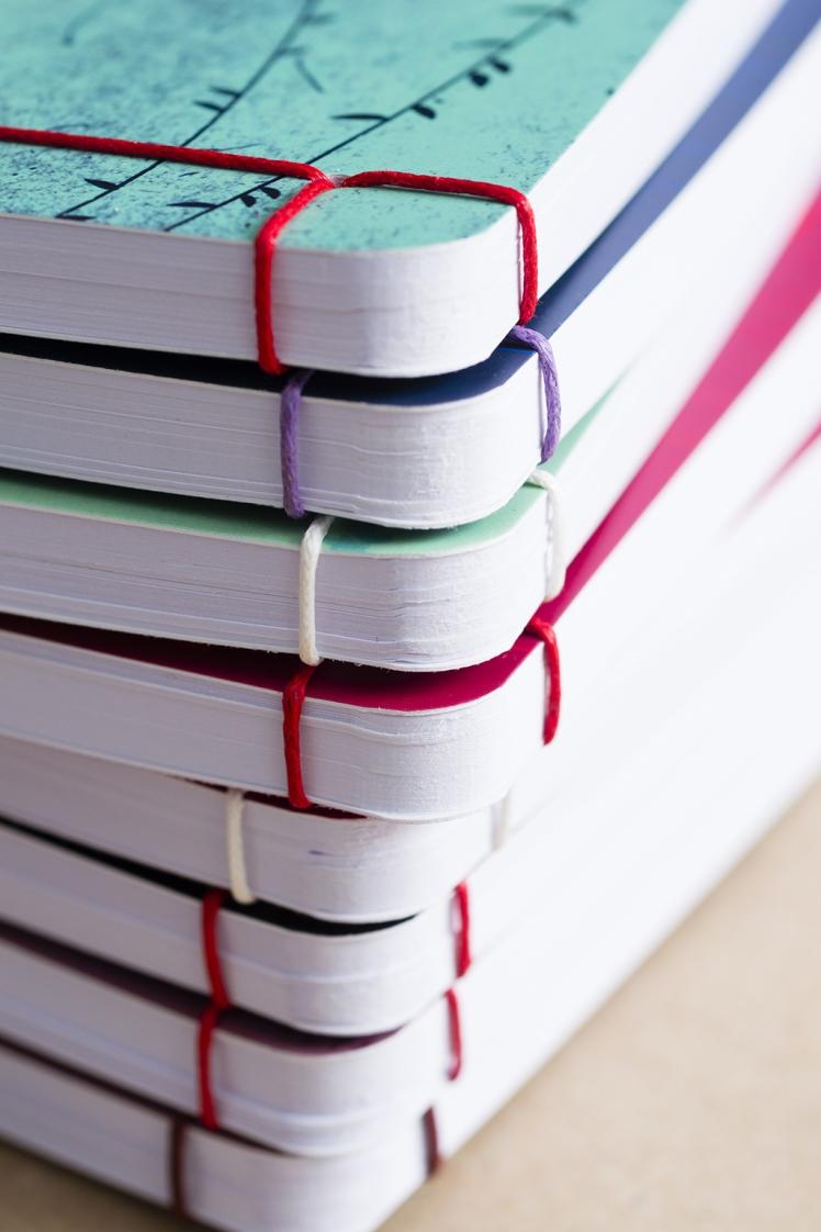 receptkönyv, füzetek, képek
