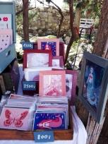 füzet, kép, illusztráció, rajz, dekoráció, gyerekszobadekoráció, gyerekszoba, jegyzetfüzet, japán kötés, kézműves, kézi, handmade, cornides ágnes, cornidesagnes, színes, egyedi, keret, képkeret, fa keret, színes keret, levél, illusztrált, levélnyomat, design, letisztult, lila, jegyzet, grafika, rajz, kék, kobalt, tenger, hal, halak, királynő