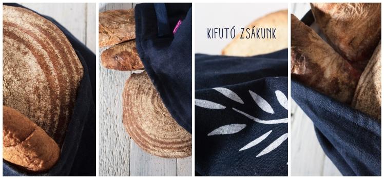 kenyérzsák, kenyértartó vászonzsák